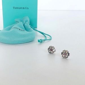 TIFFANY&CO PALOMA PICASSO CROWN OF HEARTS EARRINGS